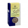 Front view of a box of Sonnentor Coriander Whole, 35g