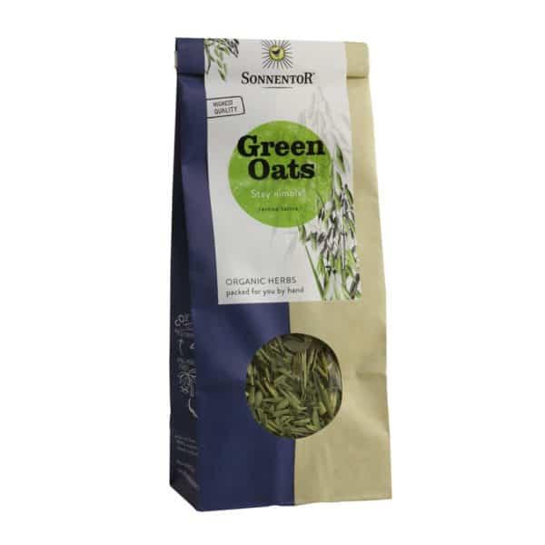 Packet of Sonnentor Organic Green Oats Tea, 50g