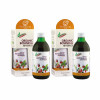 Two bottles of naturvital florian for kids drink with packaging