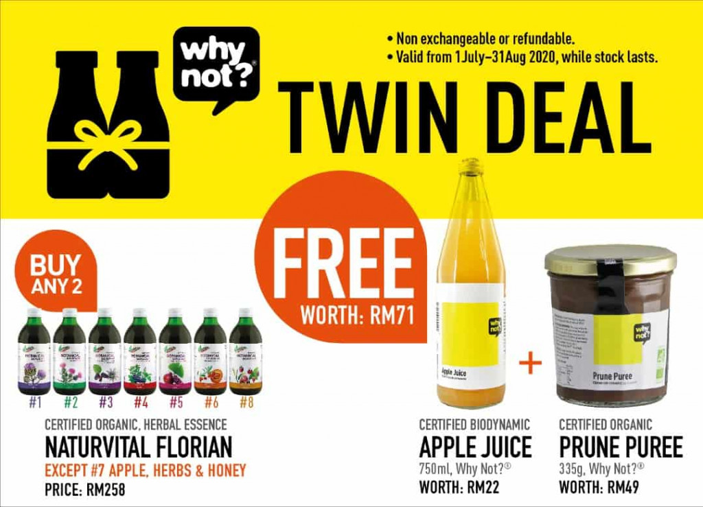 Naturvital Florian Drink Blends Twin Deal Promotional Image